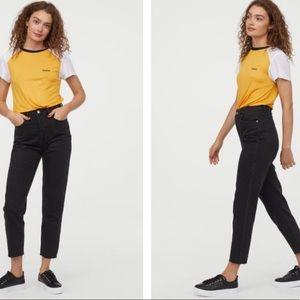 H & M Slim Mom Jeans NWT